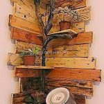 #bois #Eckregal #fantastische #Holzpaletten #Ideen