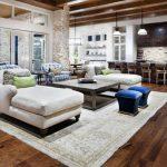 das wohnzimmer landhausstil strahlt einen nat rlichen charme aus living room mod...