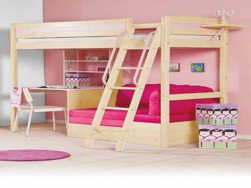 diy loft bed plans with a desk under | Related Post from Loft Bed with Desk Unde…
