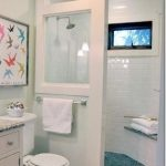 doorless shower modern farmhouse cottage chic love this shower for a small bathroom