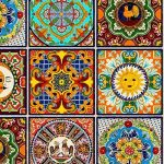 "eQuilter Fiesta - Mexikanische Sonnenfliese - Multi - 24 ""x 44"" PANEL  #equilter..."