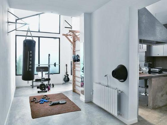 #fitnessstudio #einrichten #eigenes #hause #zueigenes Fitnessstudio zu Hause ein…