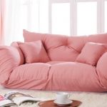 floor couch design ideas teen girl bedroom furniture pink couch white carpet