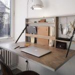 funktional, geräumig, edeler Schreibtisch der Platz spart. Schreibtisch für kl...