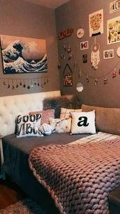 groß  46 süße Mädchen Schlafzimmer Ideen für kleine Räume 22  #deko #dekor…,  #deko #Dekor …