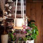 #hängendes #Hängepflanzer #Holzregal #Regal #rundes