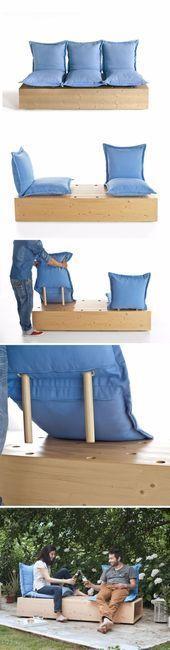 #homedecor #DIY #Sofas #und  DIY Sofas und Sofas  Schnittsofa  Einfache und krea…