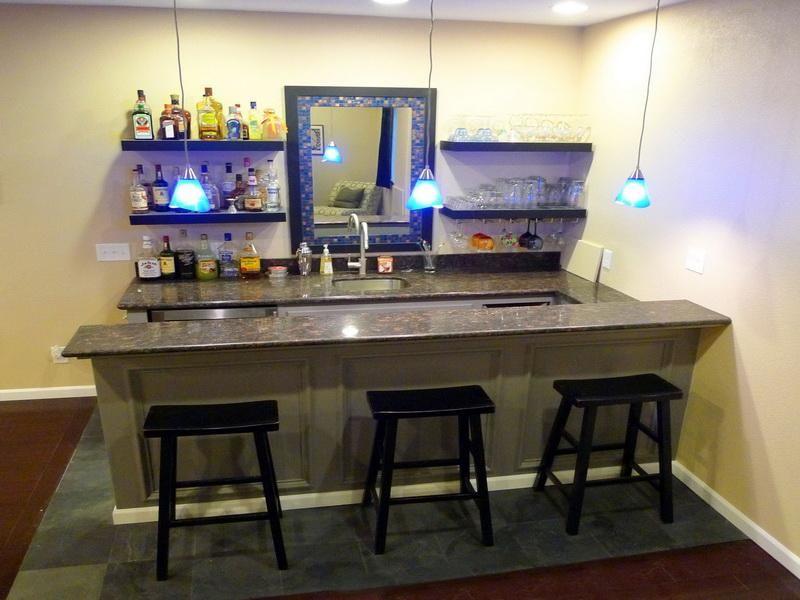 narrow counter for smaller space
