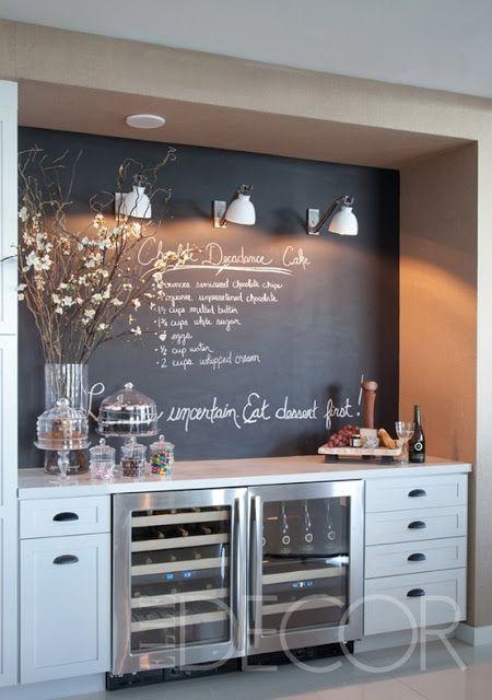 tafelwand für die küche – bingefashion.com/dekor