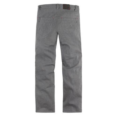 ... icon hooligan denim pants - grey ... iojnwvu