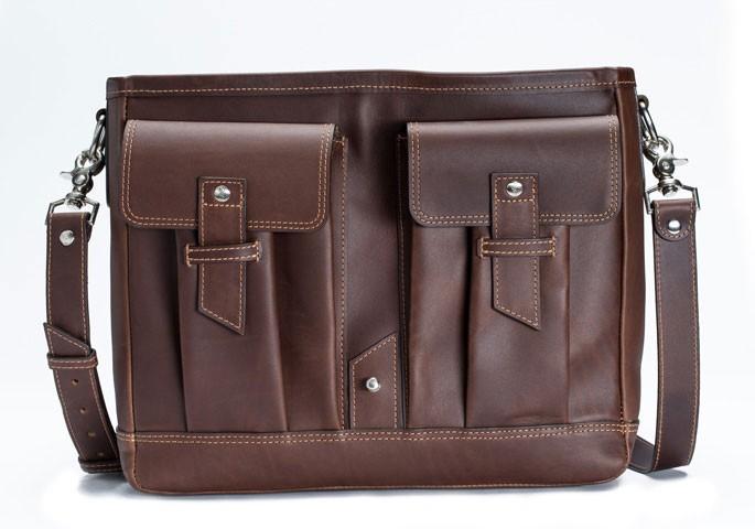 ... leather laptop bag ... tqrpzys