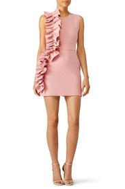 ... pink side ruffle dress by msgm ... bjewcfa