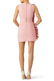 ... pink side ruffle dress by msgm ... gutvmps