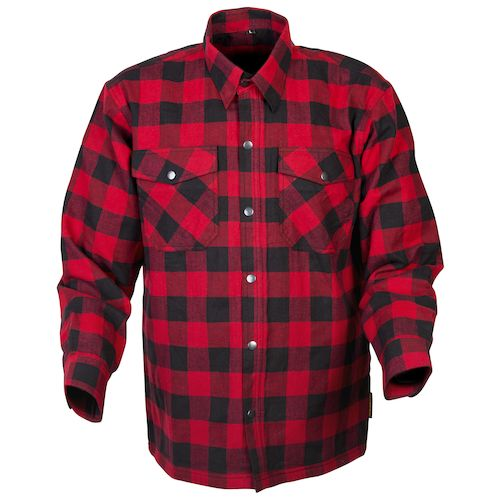 ... scorpion covert flannel shirt - red/black ... rhvpdcd