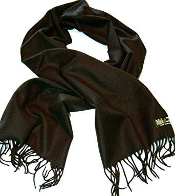 100%cashmere scarf--80 rich colors! super soft (black) gdnghql