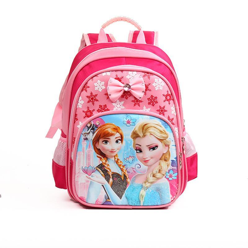2016 kids school bags violetta children lightweight school backpacks canvas  elsa anna hiloivk