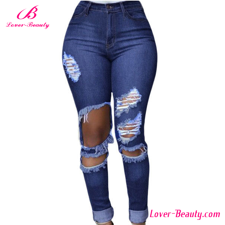 2016 latest fashion ladies jeans top design - buy ladies jeans top design,ladies geribxm