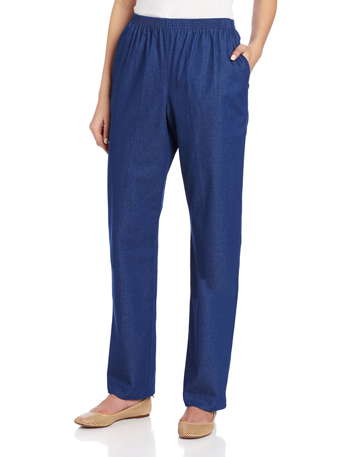 alfred dunner pants alfred dunner womenu0027s short length pant at amazon womenu0027s clothing store:  athletic aiemjih