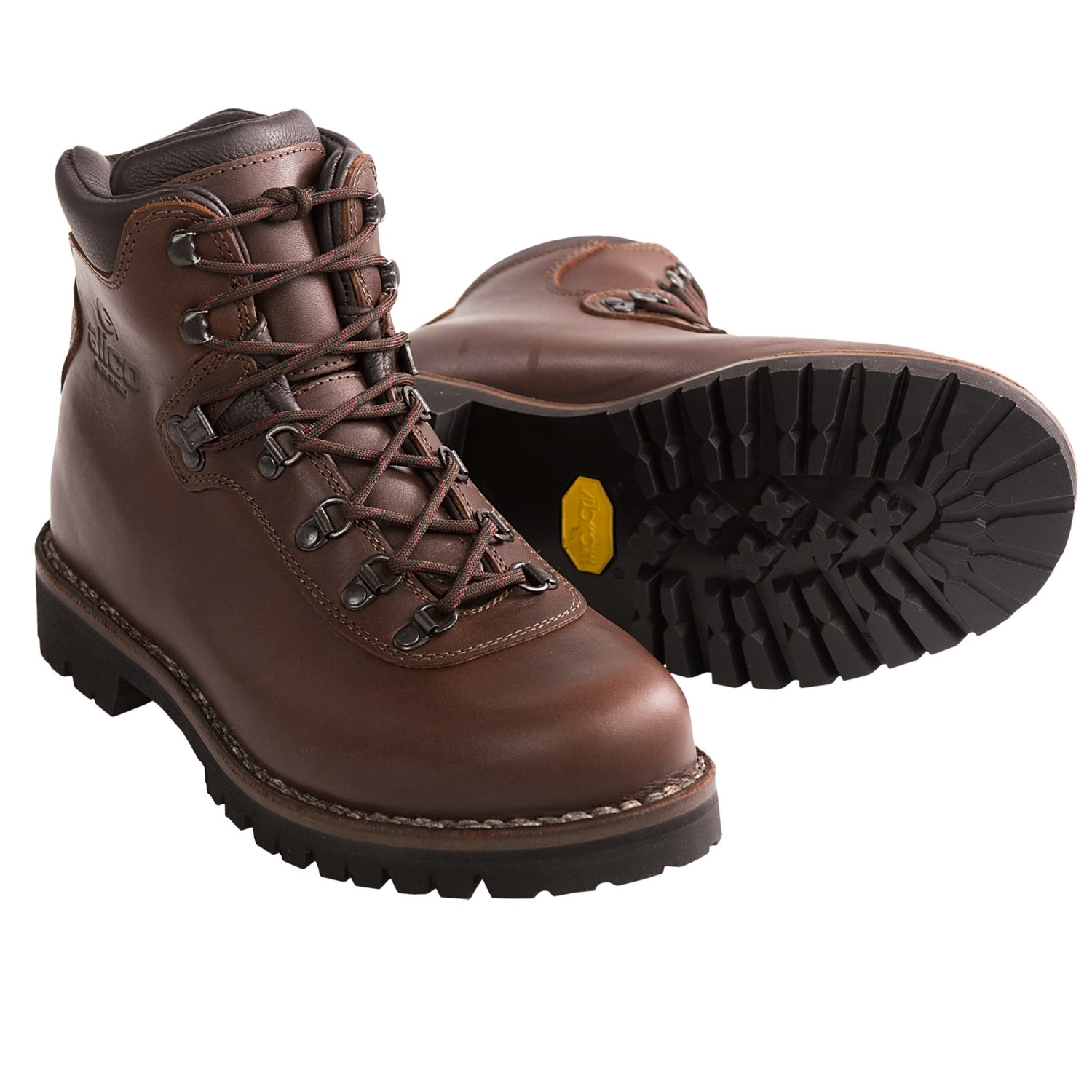 alico summit hiking boots - leather (for men) in brown xmspazr