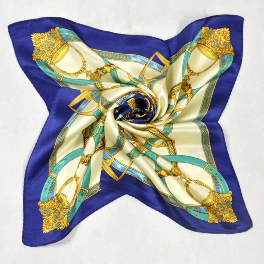 aliexpress.com : buy hot sale women small silk scarf printed fashion chain nrhvfip