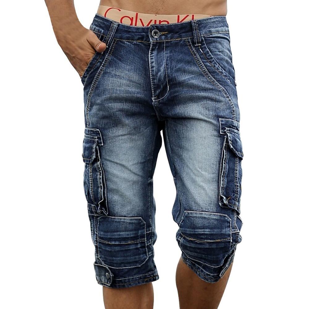 aliexpress.com : buy men cargo jeans shorts bermuda homme male fashion  baggy oznewqd