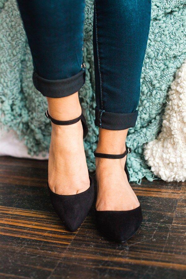 ankle strap flats | 5 colors fzjyoyq