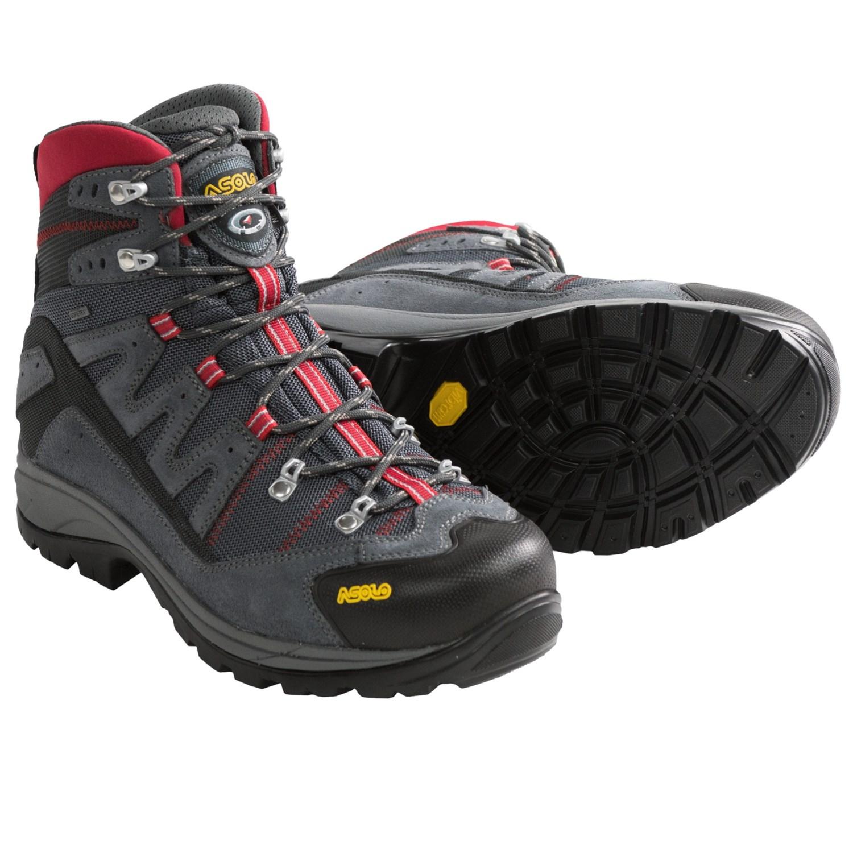 asolo boots asolo neutron gore-tex® hiking boots - waterproof (for men) in grey ... mdcogbm