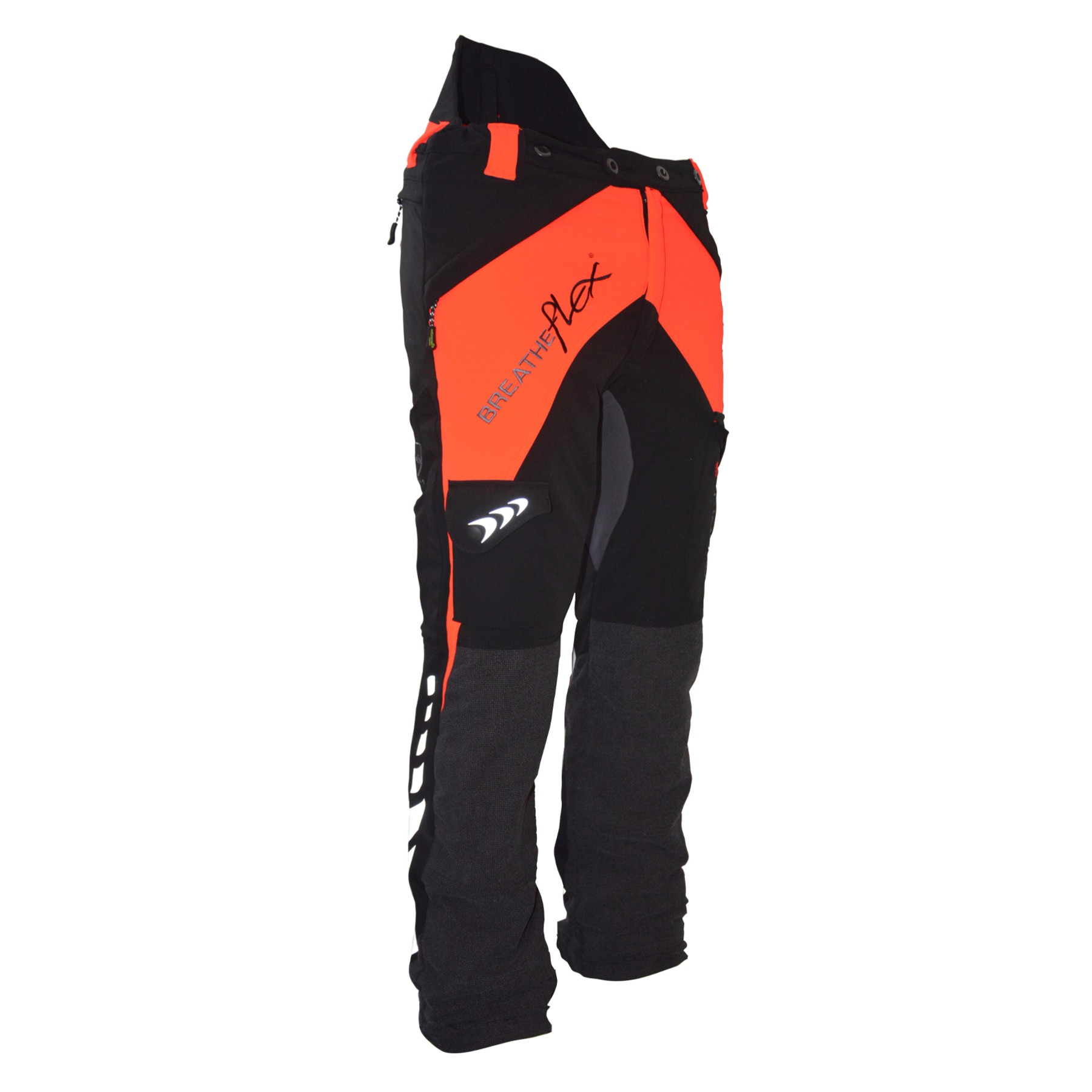 at4050-or/bk chainsaw trousers uhbnjix