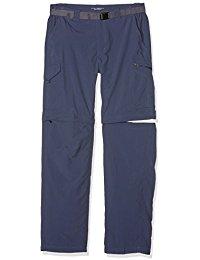 athletic pants columbia menu0027s silver ridge convertible pants, zinc, 42 x 32 vfqgjfh