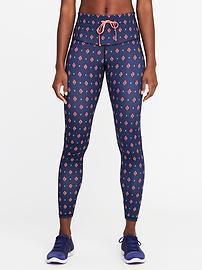 athletic pants go-dry high-rise drawstring compression leggings fggkcfr