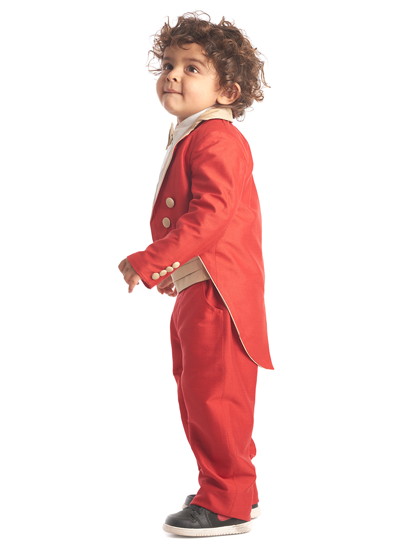 baby suits kidology red baby coat tail suit lqctpdo