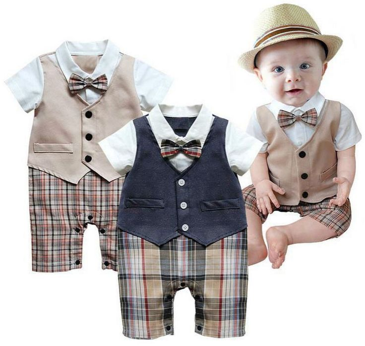baby suits baby boys romper infant gentleman waistcoat suit jumpsuits rompers clothes  #new #dressyeverydayholiday yqfceyx