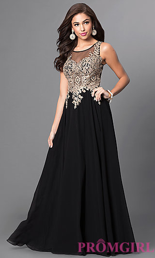 ball dresses jewel embellished long sleeveless dress-promgirl wvrgbjs