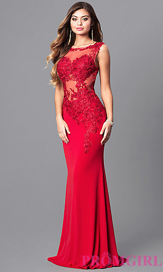 ball dresses jvnx by jovani red prom dress with lace - promgirl phuzfgf