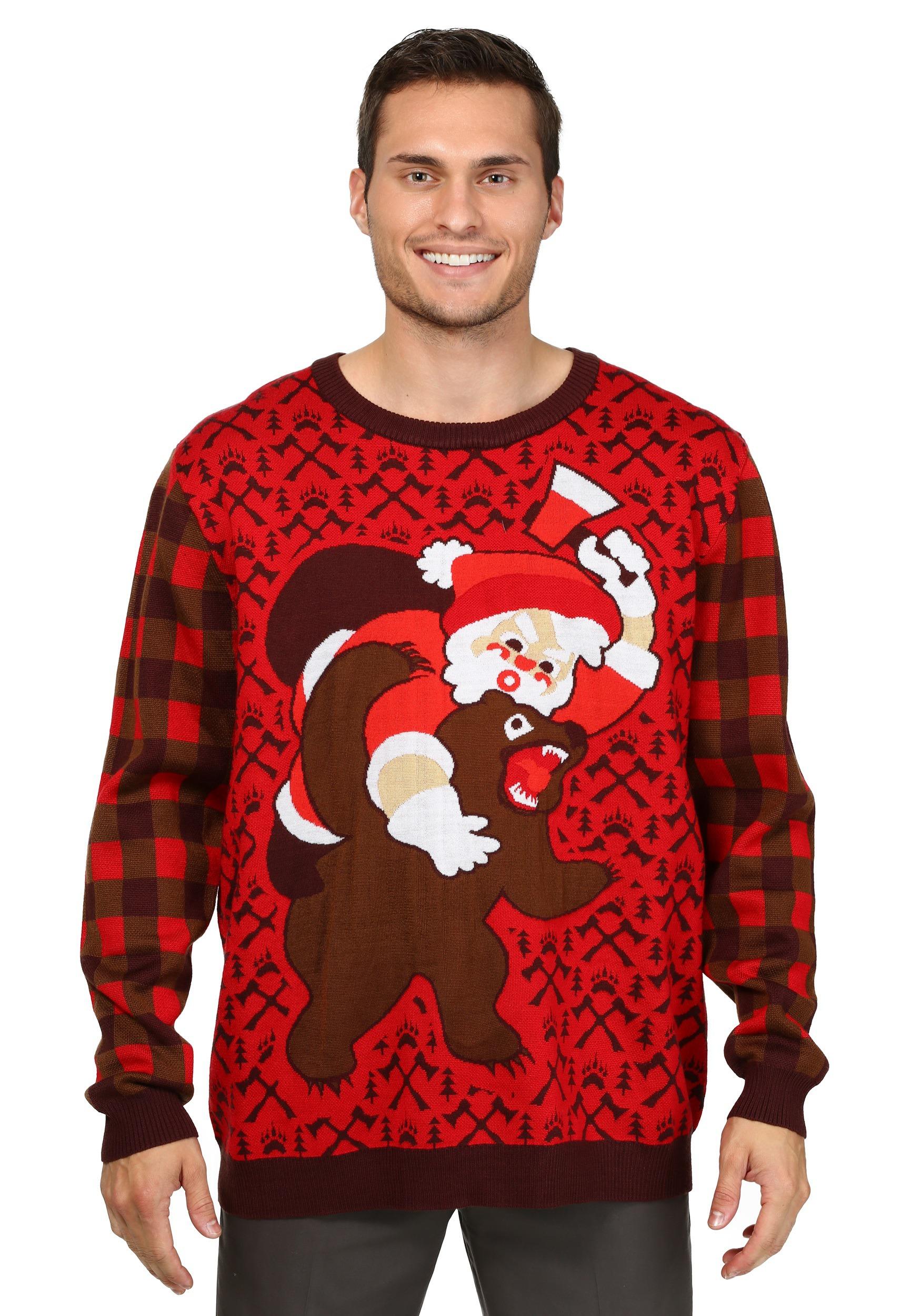 bear christmas sweater kzjbmsi