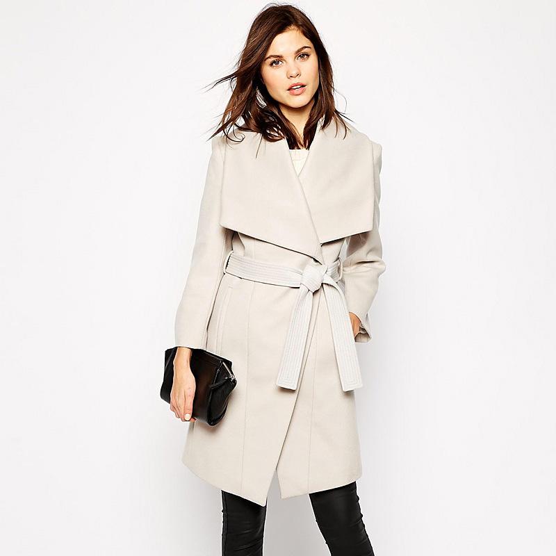 beige coat aliexpress.com : buy hight quality winter coat women warm beige wool coat nlbaxzn