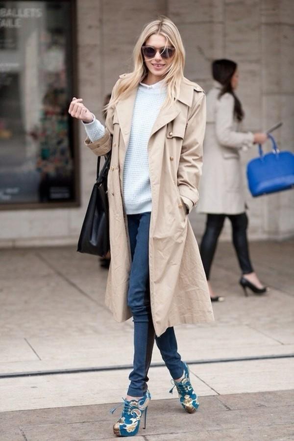 beige coat beige long beige coat long coat streetstyle beige trench coat wyofish