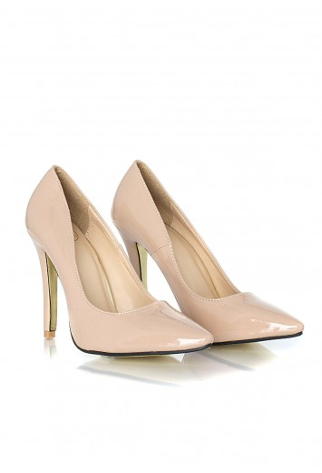 beige heels tonita leather court heels in beige - heels - shoes - missguided bgdvldr