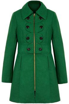 best 25+ green coat ideas on pinterest | green winter coat, green wool zqeuuzx