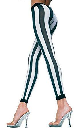black and white striped leggings music legs womens black u0026 white stripe leggings footless tights snfwbrg