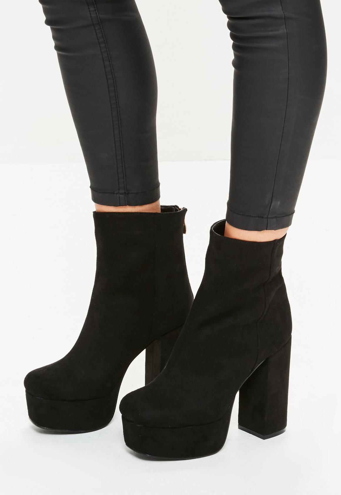 black ankle boots black super platform ankle boots tzdikqv