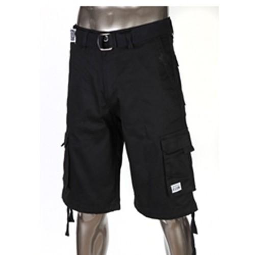 black cargo shorts pro club twill cargo shorts black kuglbxr