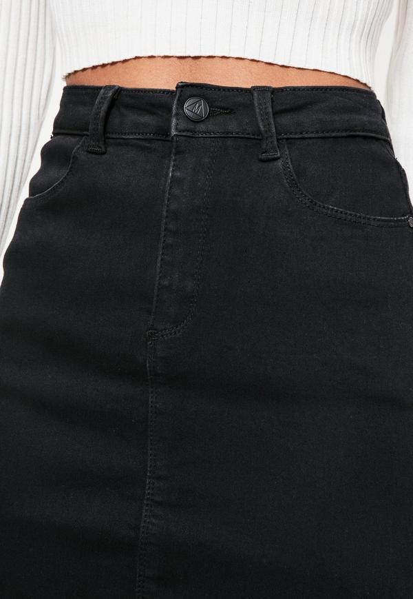 black denim skirt black denim super stretch mini skirt. previous next fxlmxhu