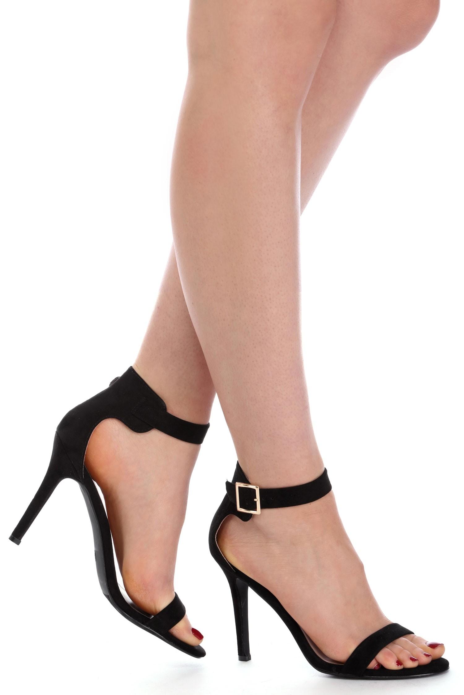 black heels final sale- black suede basic heels kngnygf