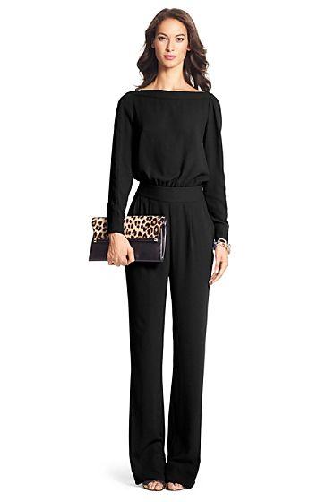 black long sleeve jumpsuit cynthia long sleeve jumpsuit in black argosxc