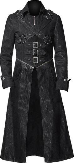 black trench coat gothic trench coat black denim http://www.the-black-angel tmrfiqp