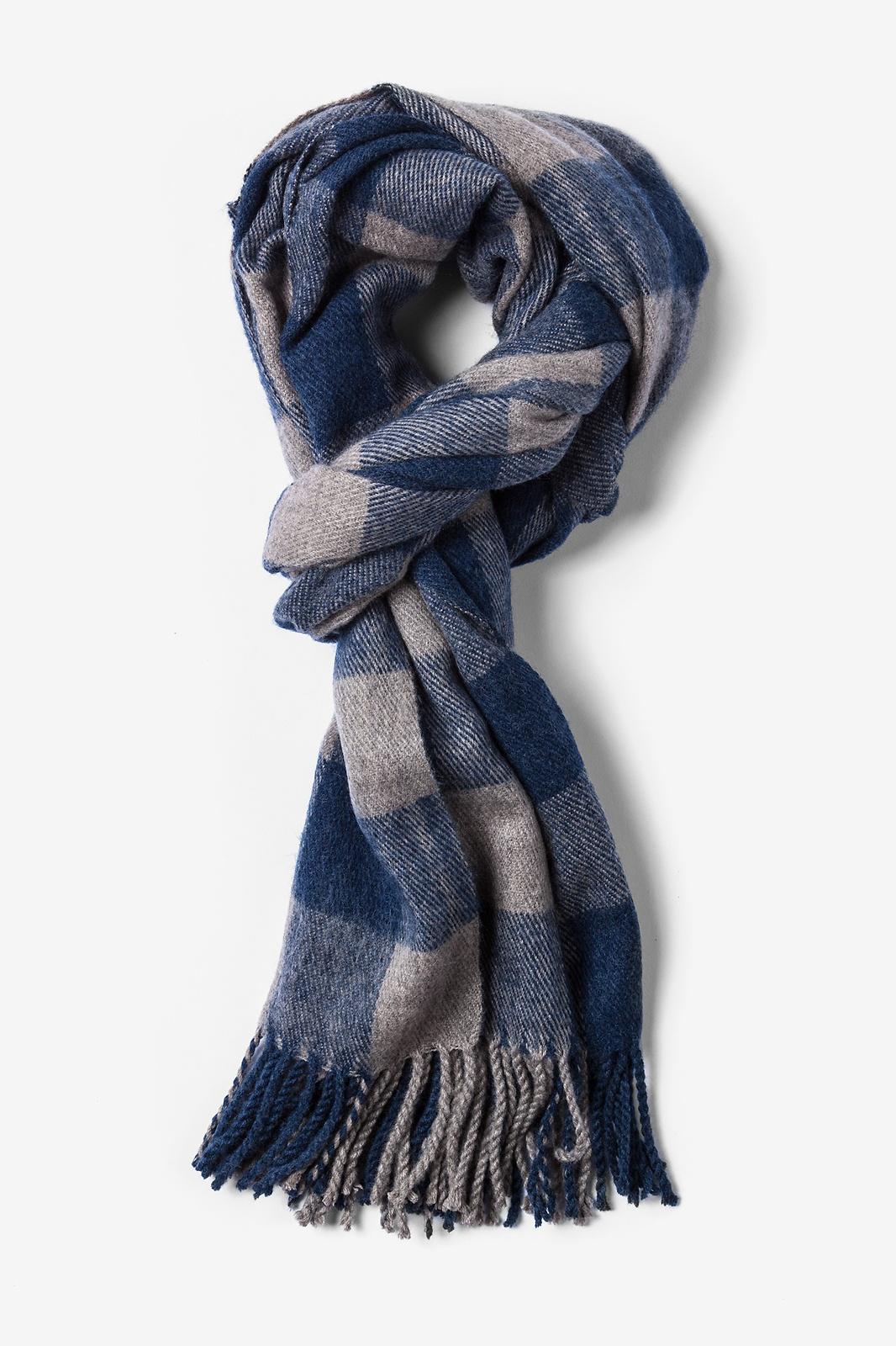blue scarf navy blue syracuse fringed scarf by scarves.com xpluoqe