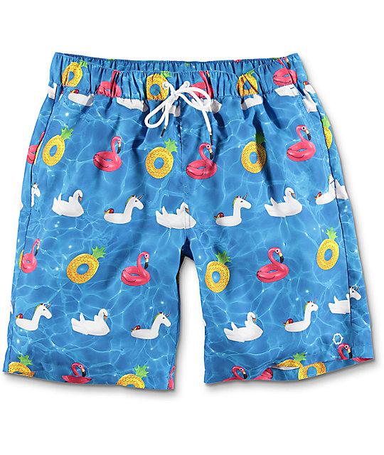 board shorts for men empyre dubtub pool float elastic waist board shorts vilrmny