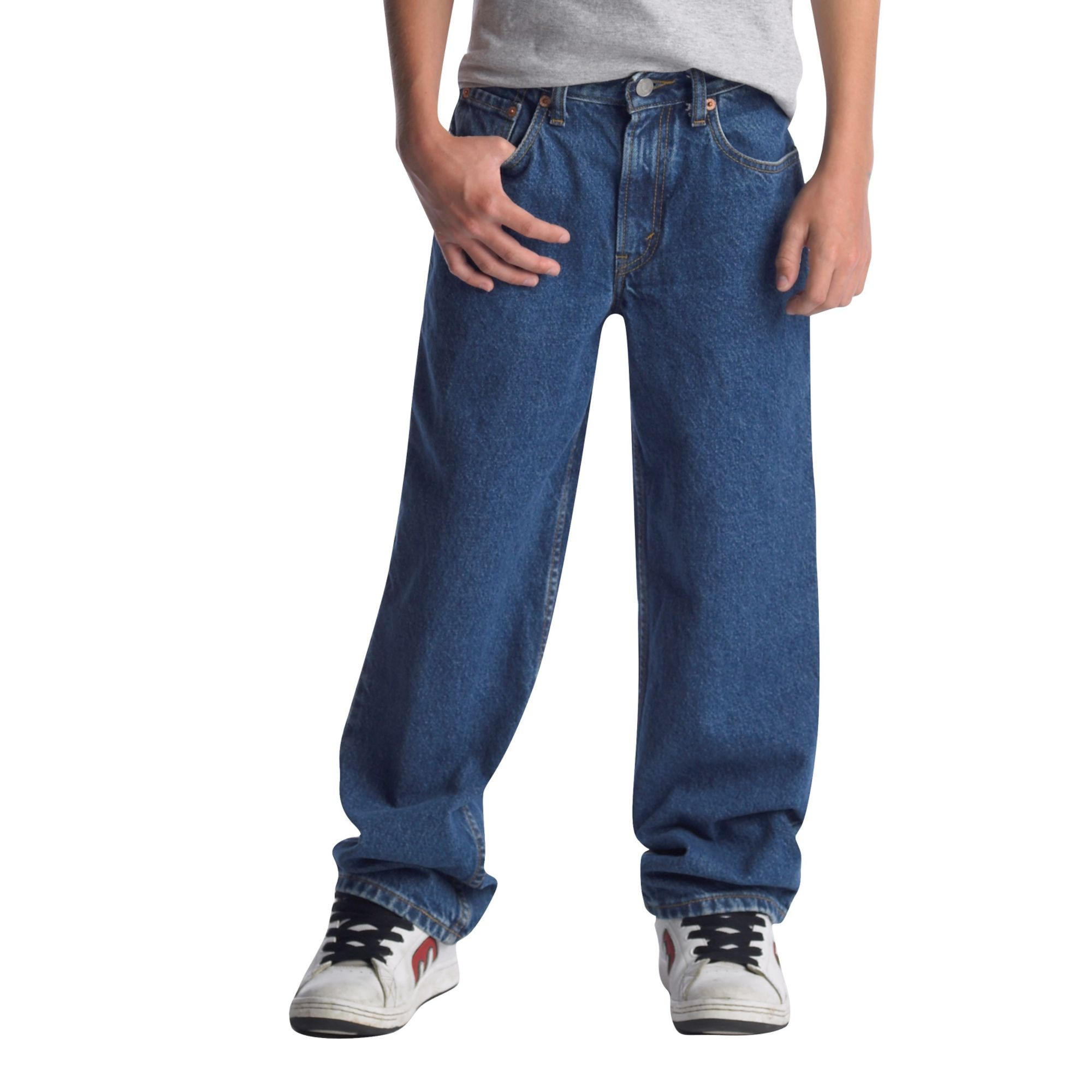boys jeans leviu0027s 550 boyu0027s relaxed fit jeans xbnsvrg