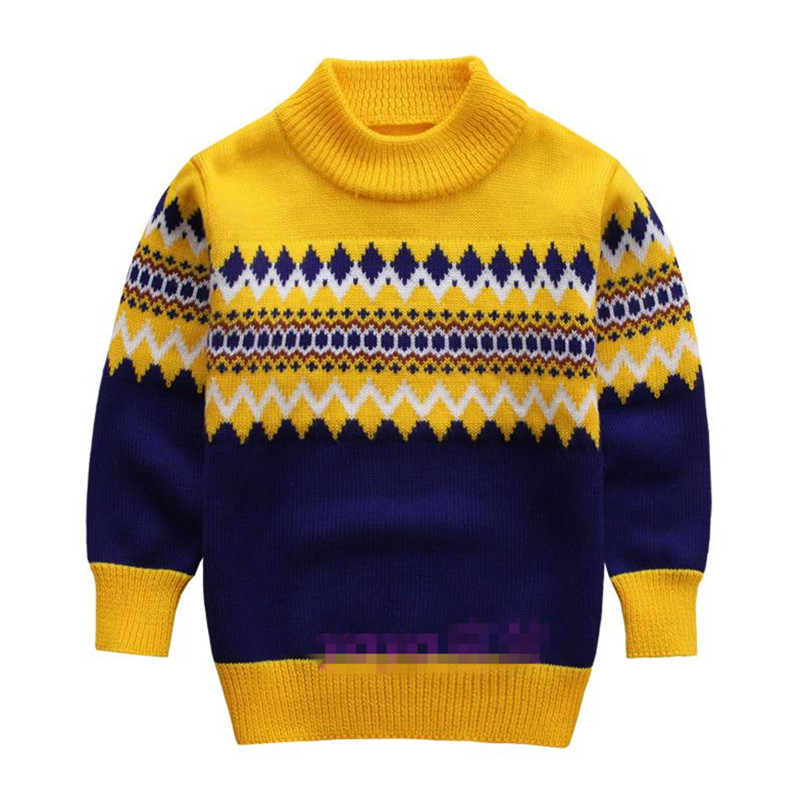 boys sweaters knitted sweater for boys 2015 autumn winter boy sweater children turtleneck  christmas xfltnbc
